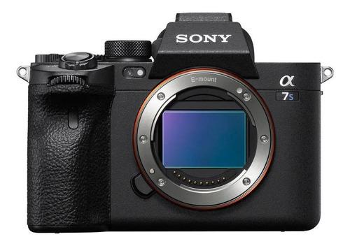 Sony Alpha 7S III mirrorless cor  preto