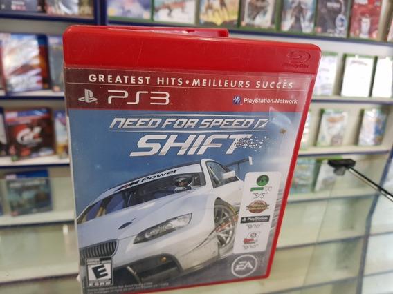 Need For Speed Shift Usado Original Ps3 Midia Física