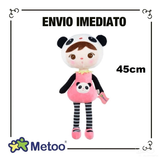 Boneca Metoo Doll Oficial Keppel Jimbao 45cm Panda
