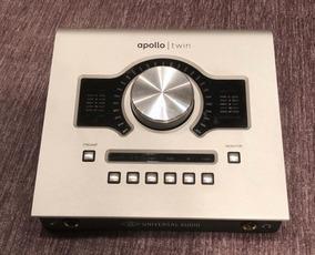 Universal Audio Apollo Twin Duo Thunderbolt - Ótima!