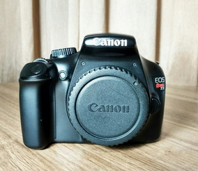 Câmera Dslr Canon T3 + 18-55 E 70-300