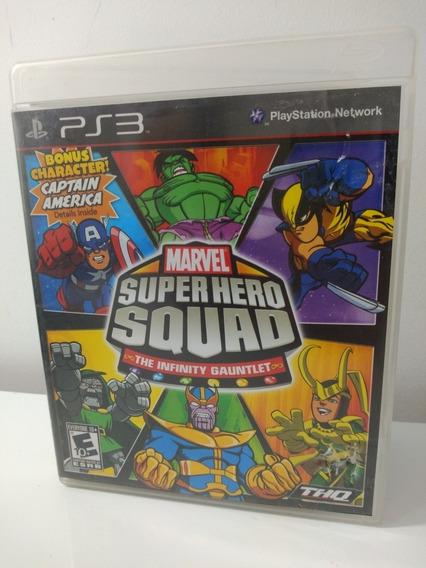 Jogo Marvel Super Hero Squad The Infinity Gauntlet Ps3