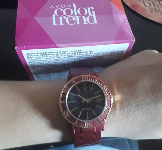 Relógio Bracelete Quartz Avon