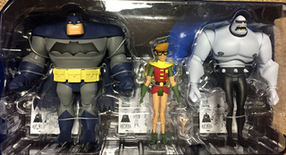 Batman Dark Knight Returns Legends 3pack Robin Serie Animada
