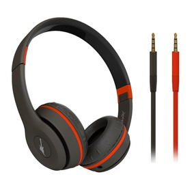 Headphone Aquarius Rock Street Rock In Rio Preto/laranja