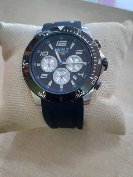 Relógio Masculino 69502gpsspu1 Seculus Sem Caixa