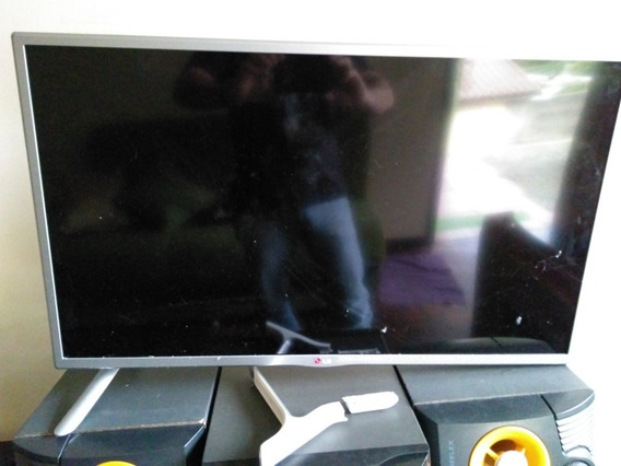 Smart Tv Lg 32pol - Nova Com A Tela Quebrada