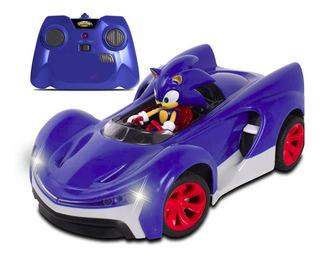 Sonic Boom Carro Control Remoto Shadow Varios Personajes