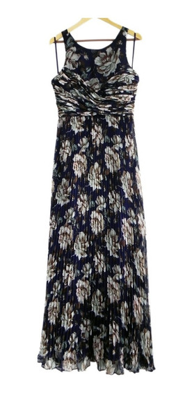 Vestido Maxi Largo Plisado Marca Asos Wedding London #fta