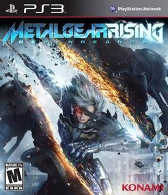 Metal Gear Rising Revengeance Ps3 Mídia Física Semi Novo
