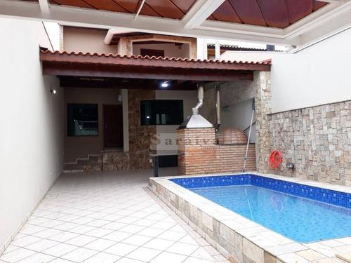 Imagem 1 de 24 de Sobrado Com 4 Dormitórios À Venda, 190 M² Por R$ 950.000,00 - Parque Terra Nova - São Bernardo Do Campo/sp - So1043
