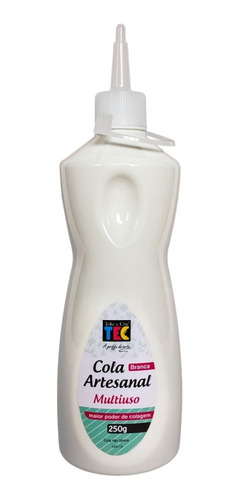 Cola Artesanal Multiuso Branca Toke E Crie 250grs