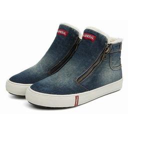 Botitas De Jeans C/corderito Importadas Liquidacion 35 A 37