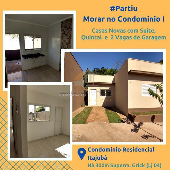 Casa De Condomínio Com 2 Dorms, Vila Pompéia, Ribeirão Preto - R$ 175 Mil, Cod: 56302 - V56302