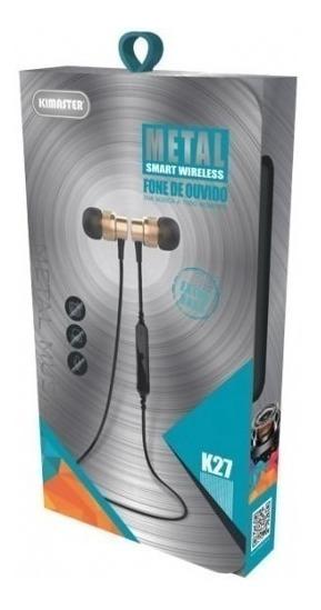 Fone De Ouvido Bluetooth K27 Kimaster