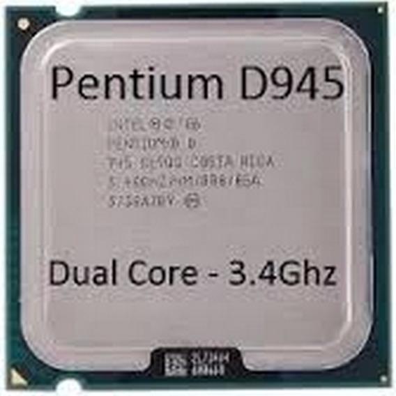 Processador Pentium D 945 3.4 Ghz 4 M Cache Dual Core 775