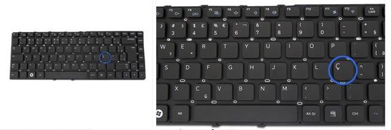 Teclado Notebook Samsung Np-300e4c Padrão Sem Ç