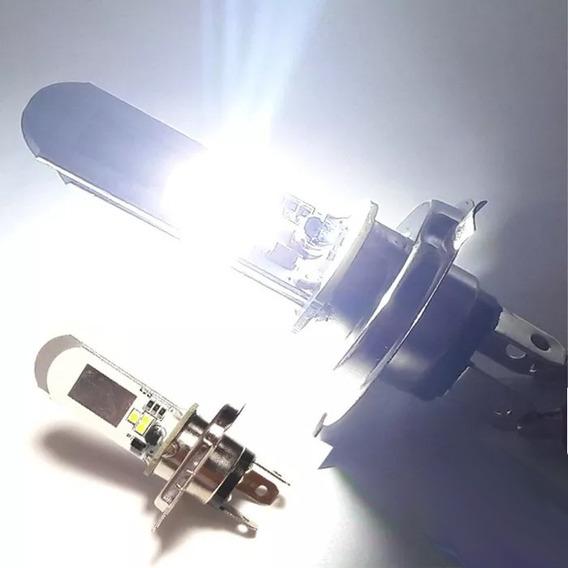 Lampada Farol Led Ybr 125 Fazer 150 Factor Xtz 125 Branco