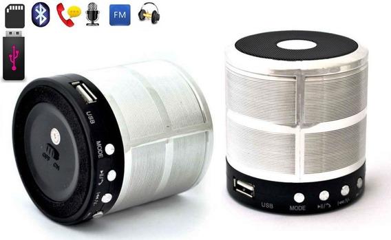 Caixa Bluetooth X-bass Potente Radio Fm Pega Pen Drive!!