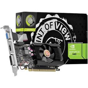 Placa De Vídeo Nvidia Gt 640 2gb Ddr3 128bits Gamer Hdmi