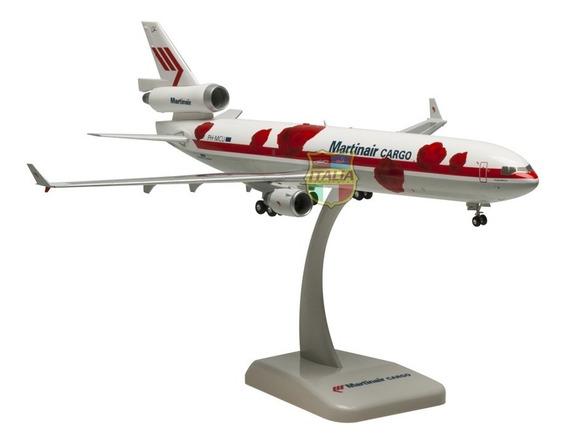 Md-11f Martinair Cargo 1:200 Hogan Com Trem De Pouso