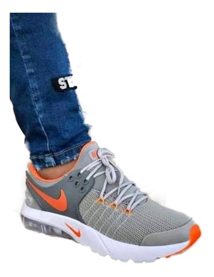 Zapatos Hombre Nike A Ir Running Tenis 100% Garantizados