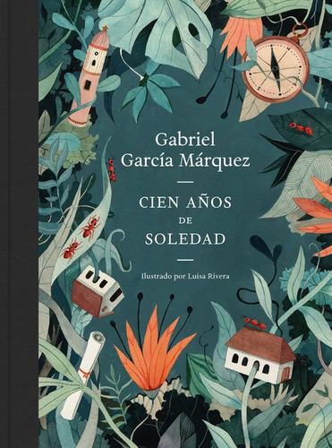 Cien Años De Soledad Ilustrado De Lujo
