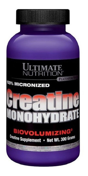 Creatina Ultimate Nutrition X 300 Gr - Mayor Recuperación