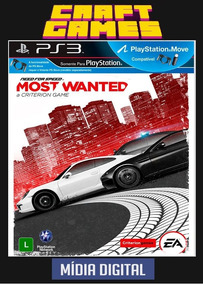 Need For Speed Most Wanted Ps3 Psn Envio Digital