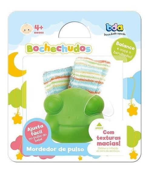 Mordedor Infantil Puslo Com Chocalho Bochechudos - Toyster