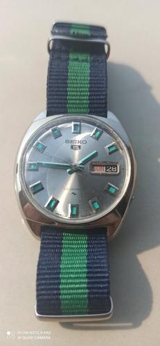 + Raro Seiko 5126-7000 Prata Com Verde Metálico Único No Br