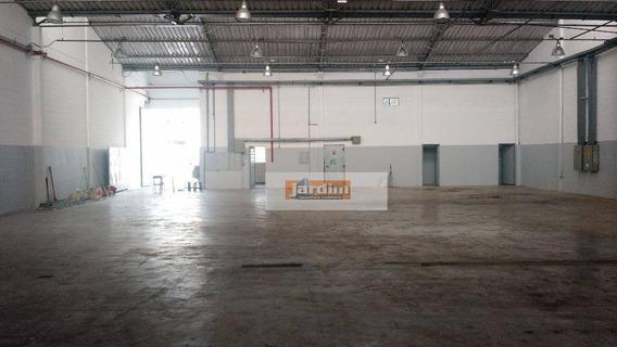 Galpão Industrial À Venda, Planalto, São Bernardo Do Campo. - Ga0108