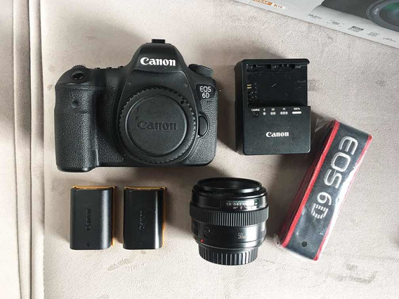 Canon 6d (usada) + 50mm F/1.4 Usm