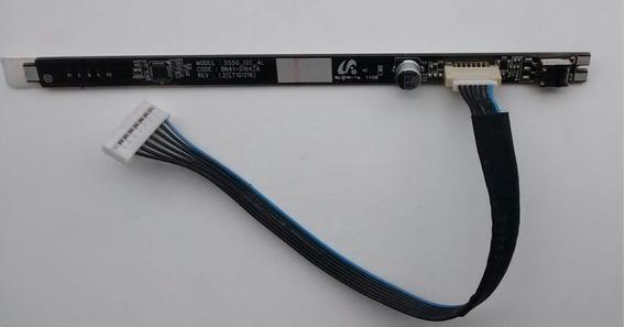 Teclado + Sensor Ir Samsung Ln32d550k7g Ln32d550 Bn41-01643a