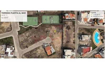 Terreno En Venta En Fraccionamiento Puerta Al Mar
