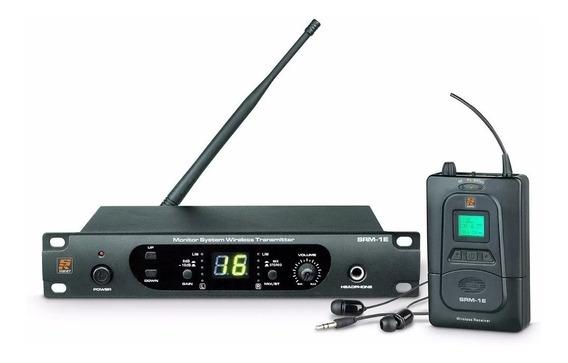 Sistema Monitor In Ear Profissional Staner Srm-1e Uhf S/ Fio Excelente Aparelho!!! Faça Sua Compra