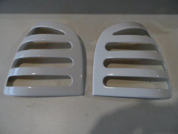 Aplique Mascara Lanterna Traseira Gol Bola Cor Branco