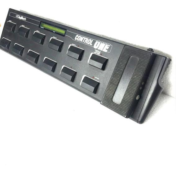 Digitech Foot Control One Com Cabo Midi Controlador - Usado!