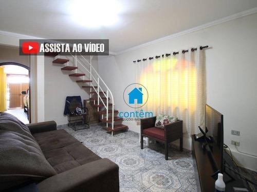 Casa Com 3 Dormitórios À Venda, 140 M² Por R$ 550.000,00 - Jardim Ana Estela - Carapicuíba/sp - Ca0429