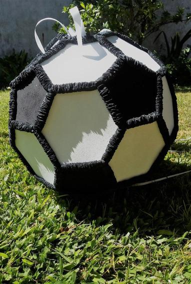 Piñata Pelota De Futbol Para Cumpleaños+ 30 Globos De Pelota