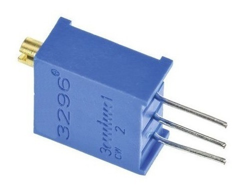 Potenciômetro Trimpot Multivoltas 1k 3296w 25 Voltas 10pçs