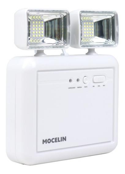 Luminária Luz De Emergência Led 1200 Lumens 2019 Mocelin