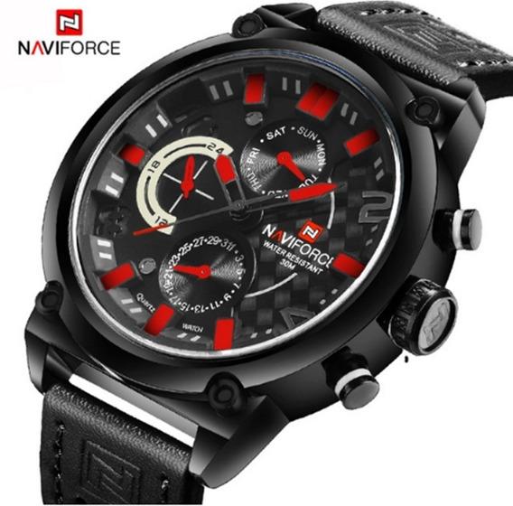 Relógio Masculino Naviforce 9068 Pulso Original Frete Grátis