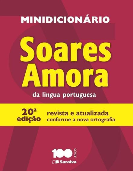 Minidicionário Soares Amora Da Língua Portuguesa - 20ª Ed