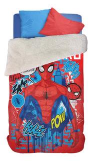 Frazada Piñata Corderito 1 1/2 plaza Spider-Man Super Hero
