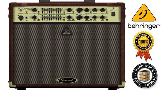 Amplificador Behringer Acx1800 Garantia 2 Anos 110v
