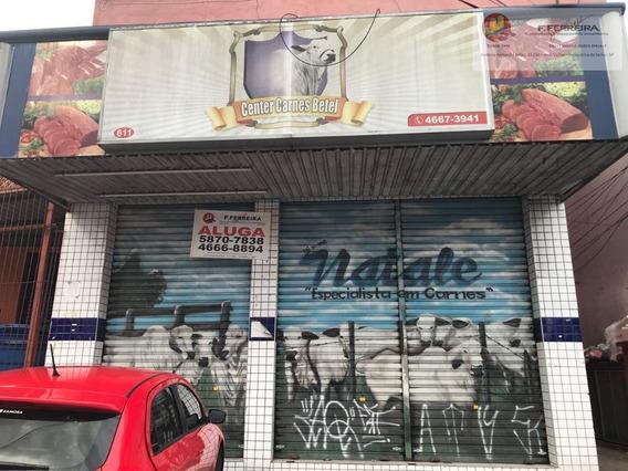Salão Comercial Para Locação, Parque Paraíso, Itapecerica Da Serra. - Sl0016