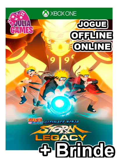 Naruto Legacy Xbox One Midia Digital + 1 Jogo Brinde