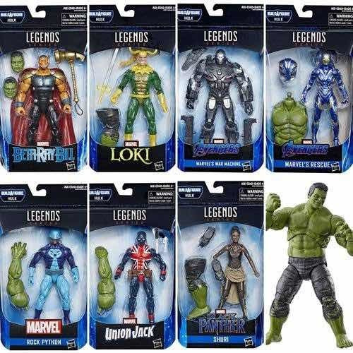 Marvel Legends Baf Hulk Endgame Avengers Serie Completa 7