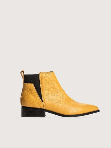 Bota Samy London Prune Zapato Mujer